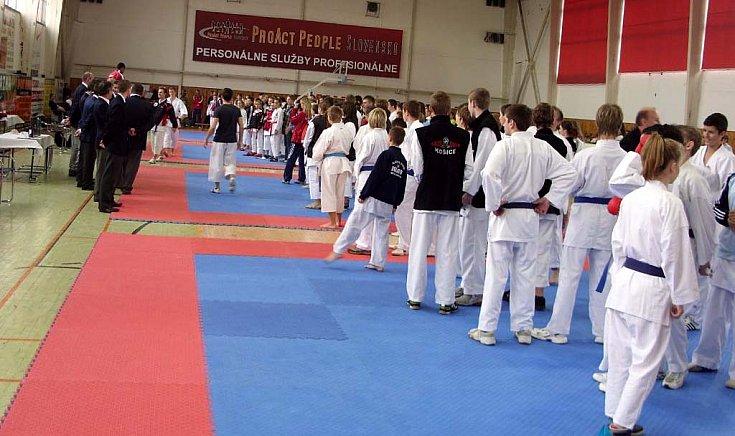 A versenyen 46 klub mintegy 180 karatékája vett részt.