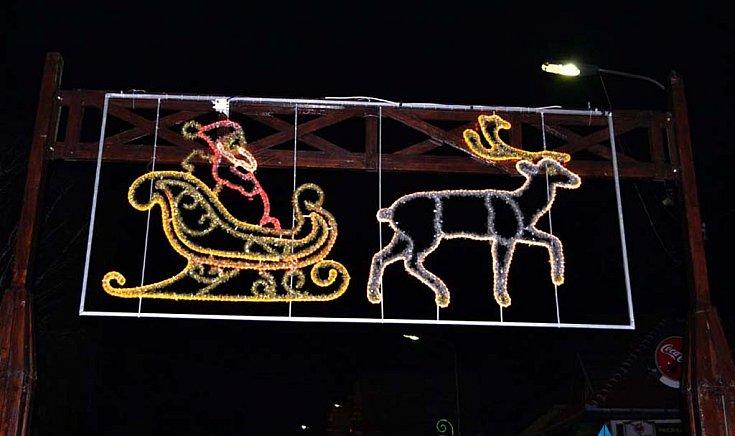 Karácsonyi vásár Gútán.