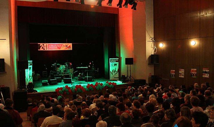 Magyar Koalíció Pártja kampányrendezvényt tartott.