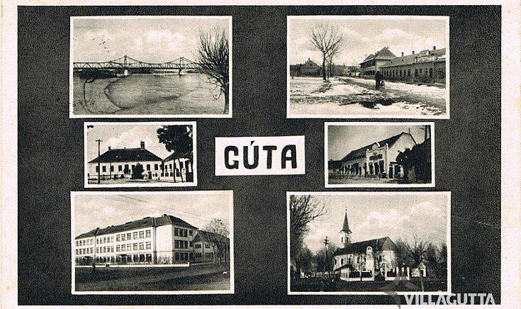 Üdvözlet Gútáról.(1940)
