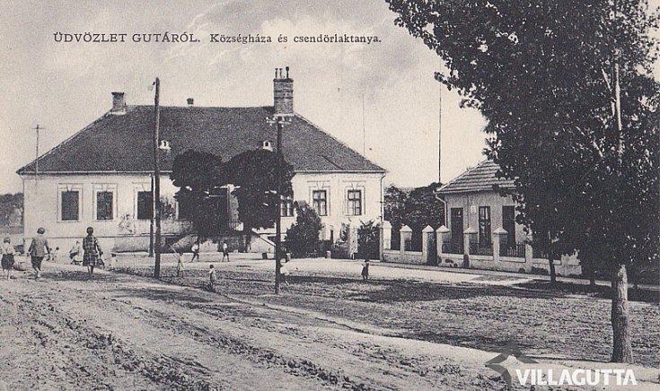 Községháza és csendőrlaktanya
