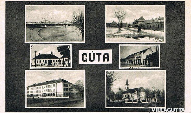 Üdvözlet Gútáról.(1941)