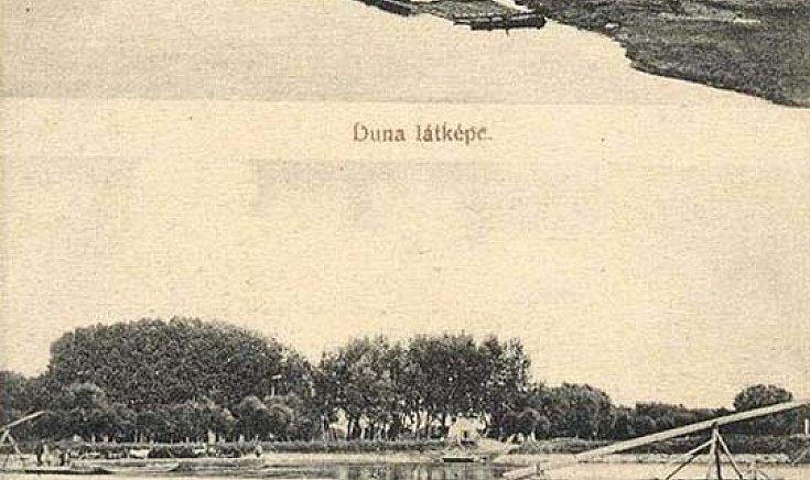 Duna látképe, Gutai átkelés