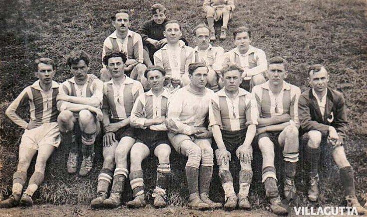 A gútai focicsapat 1942-ben