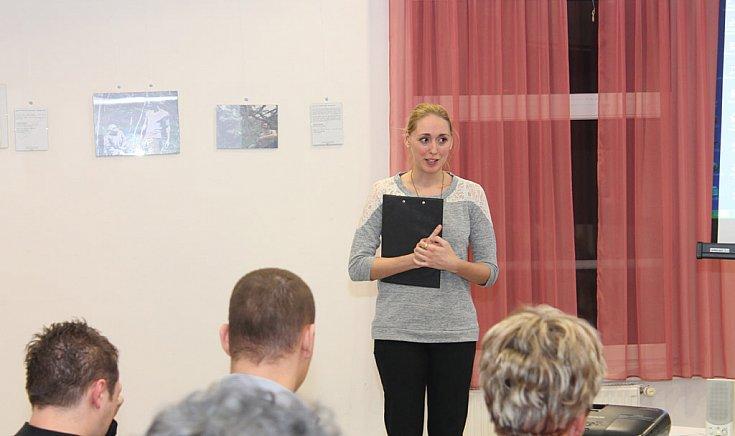 Hornung Anita, az intézmény művelődésszervezője