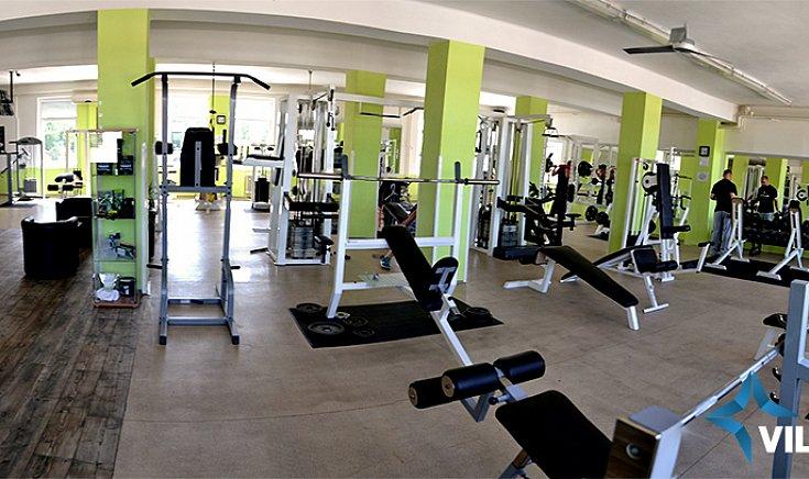 Az Atlas fitness központ a Templom tér 11 szám alatti épület második emeletén található.
