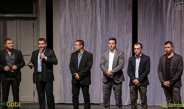 Balról: Forró Tibor, Forgács Attila, Kovács Adrián, Kiss Richárd, Angyal Tamás, Marosi Szilárd