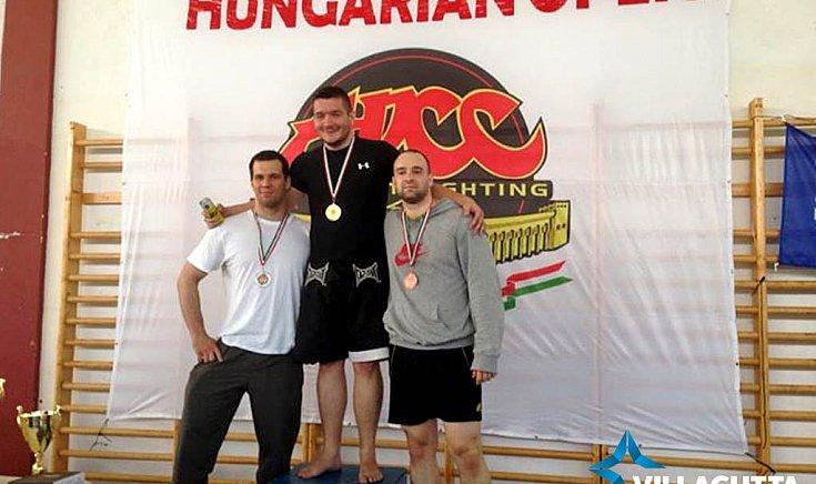 Az Abu-Dhabi Combat Club Hungarian Open gyözteseként.
