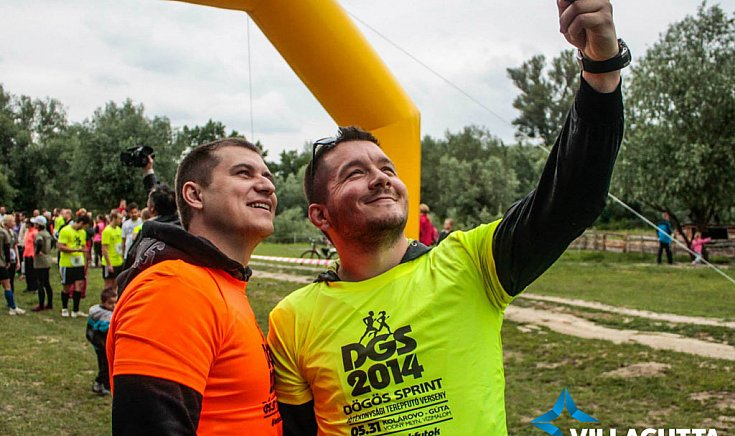 DGS sprint selfie.