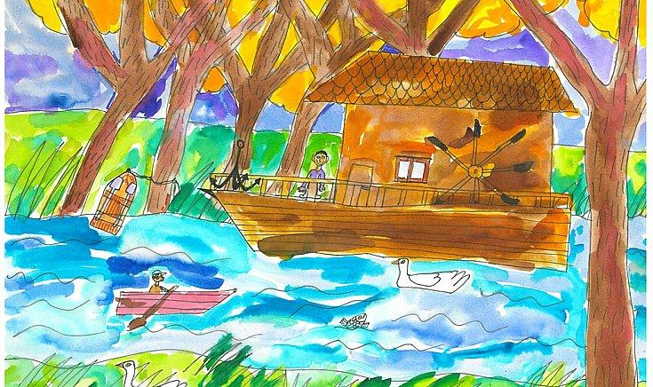 Gúta, hajómalom - Dániel Regő alkotása
