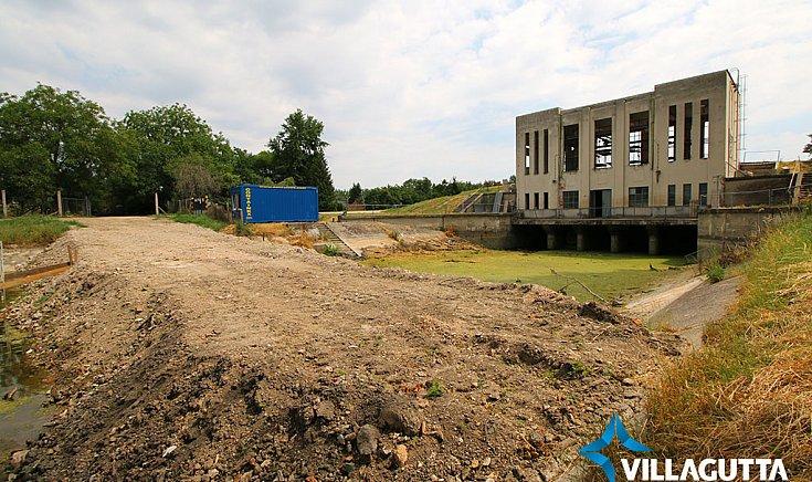 Felújítások zajlanak a csörgői szivattyúállomáson