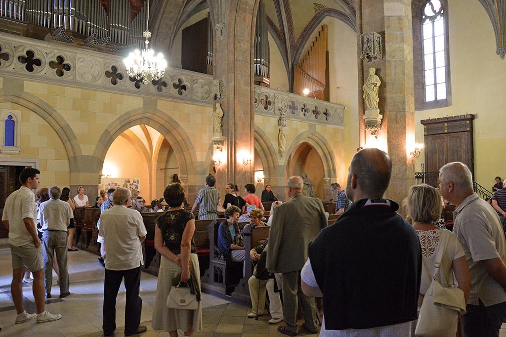 Gútai orgonista Körmöcbányán is lenyűgözte hallgatóságát