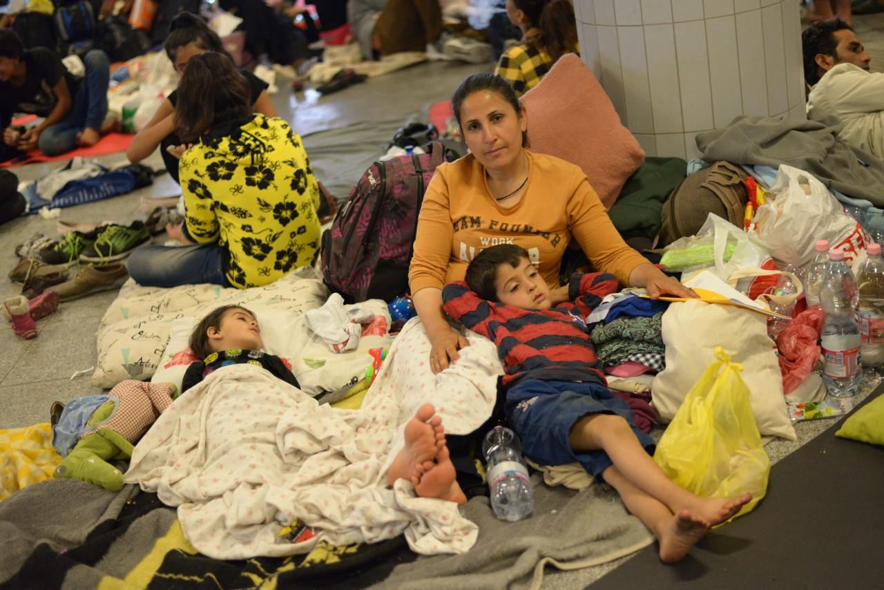 Gútaiak is segítenek a menekülteknek