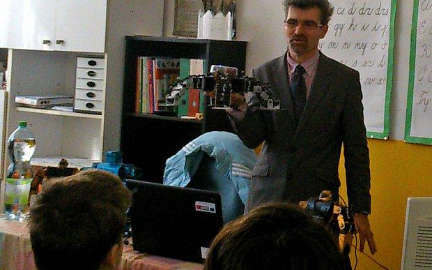 Star Wars robotokról is szólt a Tudományok Napja Gútán