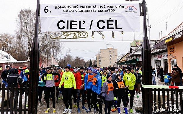 6. Gútai Vízkereszt Maraton - Képriport
